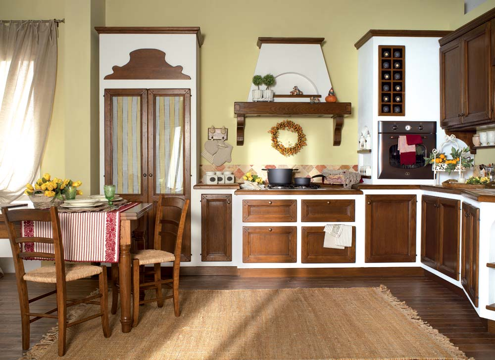 Cucine rustiche toscana top cucina in legno with cucine - Cucine rustiche toscana ...